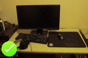 Proper Gaming Setup