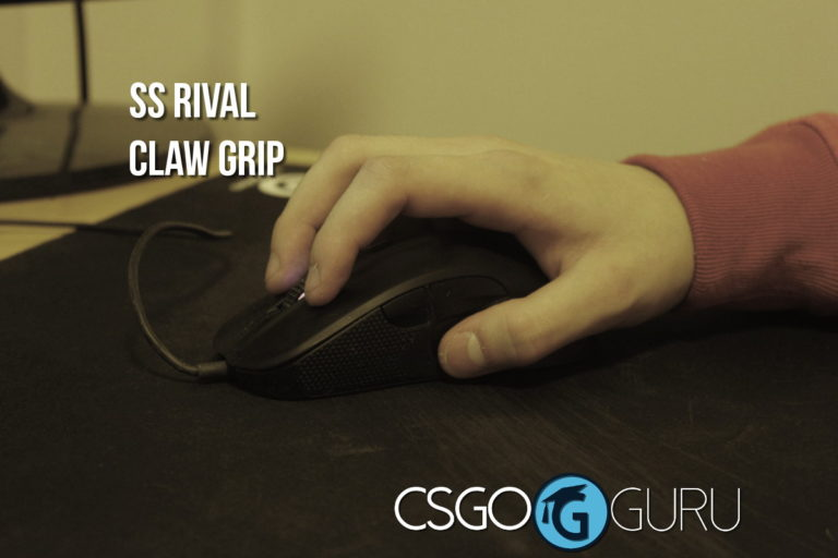 steelseries rival claw grip
