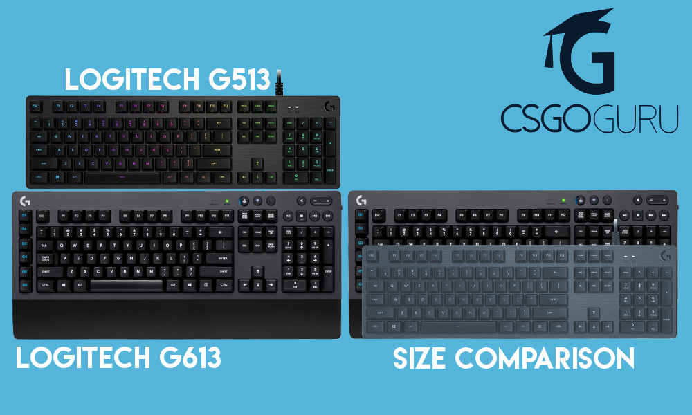 Logitech G613 Wireless Gaming Keyboard Review - CSGOGuru