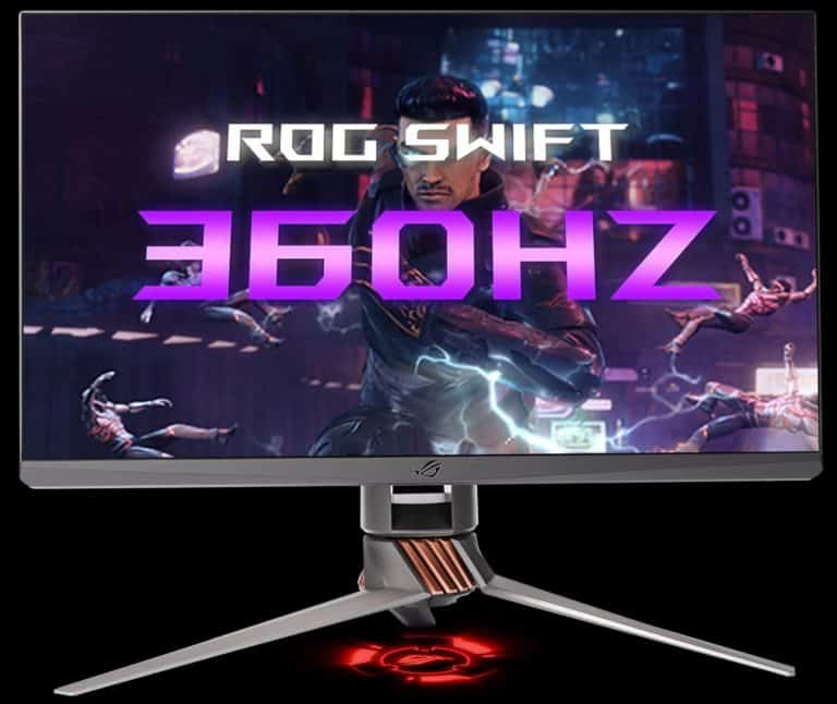 ASUS ROG Swift 360 Hz front