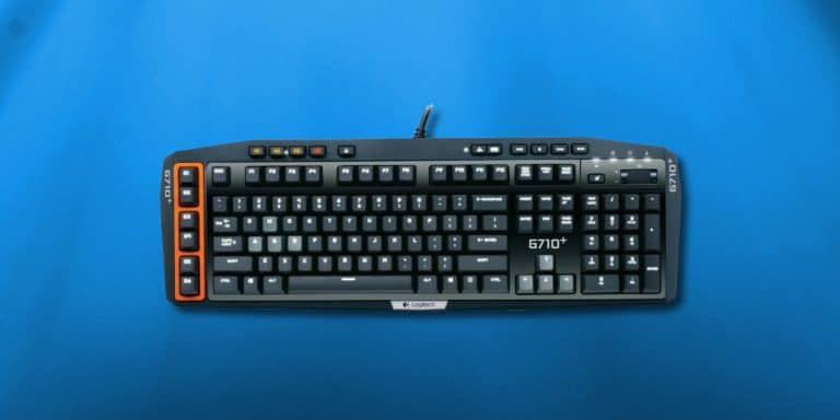 Logitech G710+ gaming keyboard review